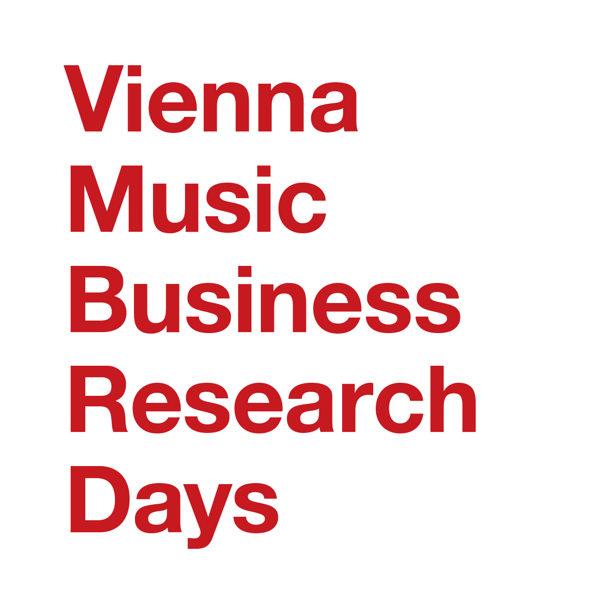 music industry music business research the 8th vienna music business research days will be held at the university of music and performing arts vienna anton von webern platz 1